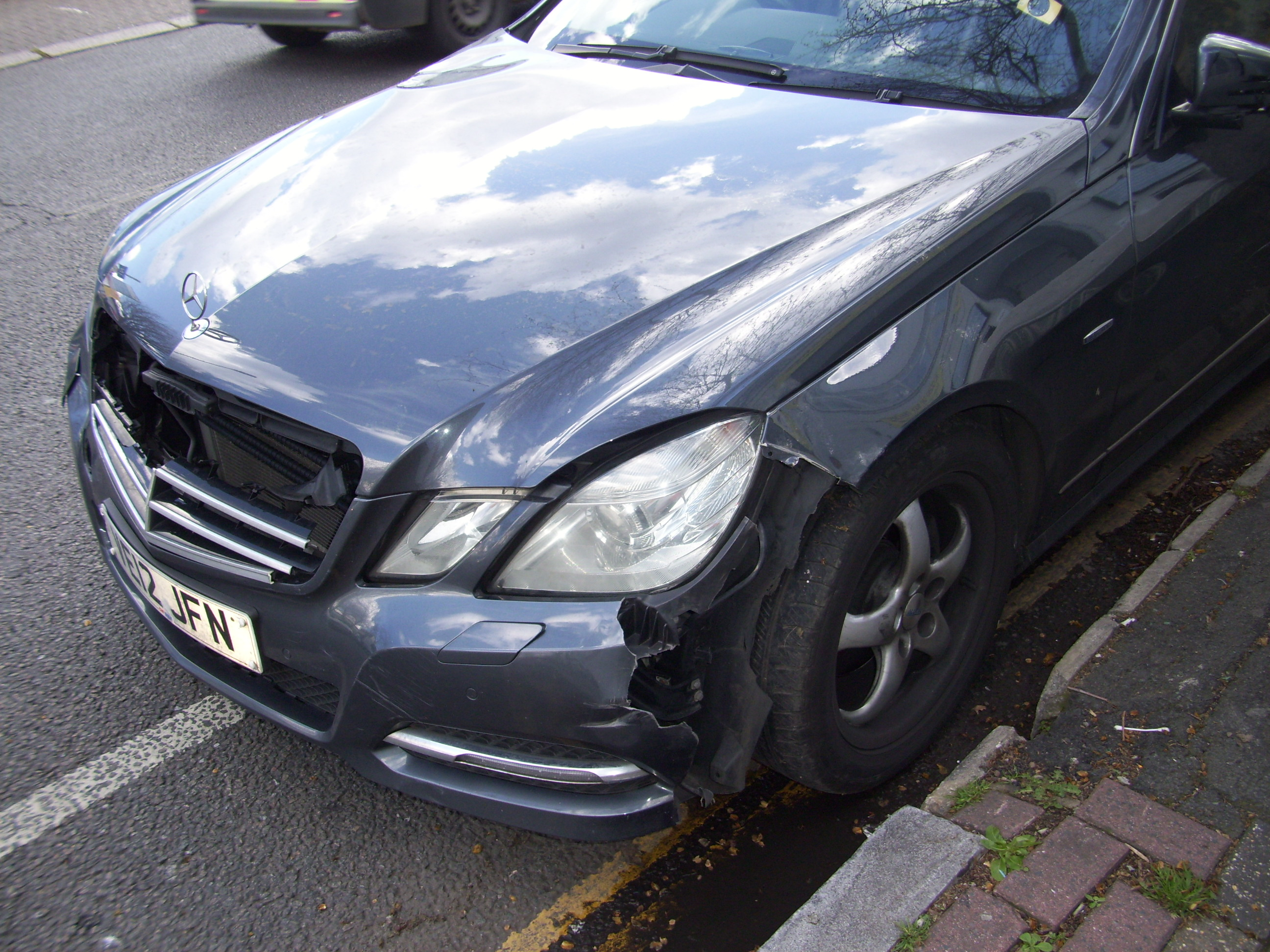 The 5 most common types of car bumper damage photo