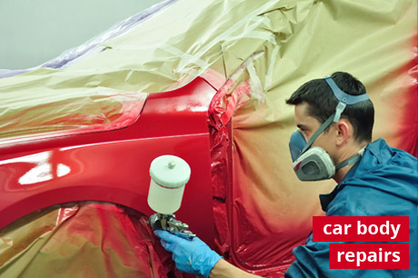 car body repairs service photo